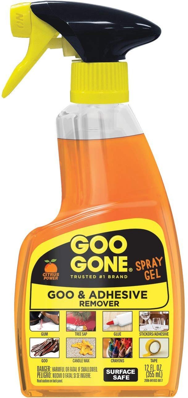Goo Gone Spray Gel 12 Ounce